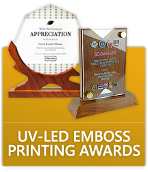 UV-LED Emboss Printing Awards