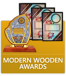 Modern Wooden Awards