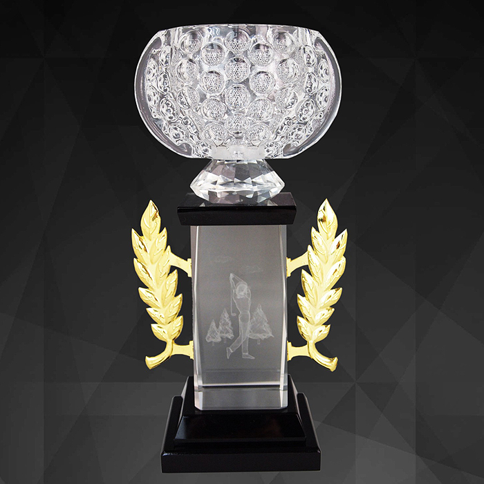 9143 - Exclusive Crystal Bowl Trophy
