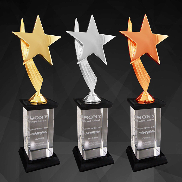 9146 - Exclusive Star Awards (GOLD, SILVER, BRONZE)