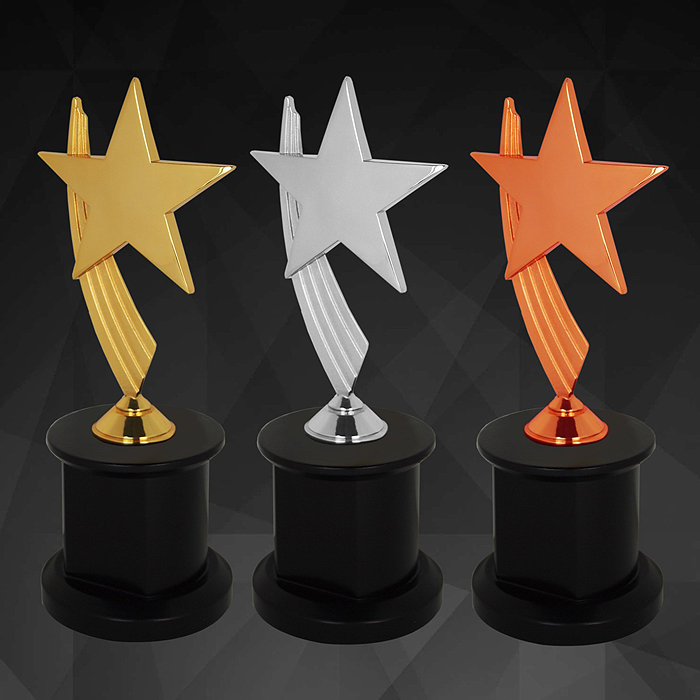 9147 - Exclusive Star Awards (GOLD, SILVER, BRONZE)