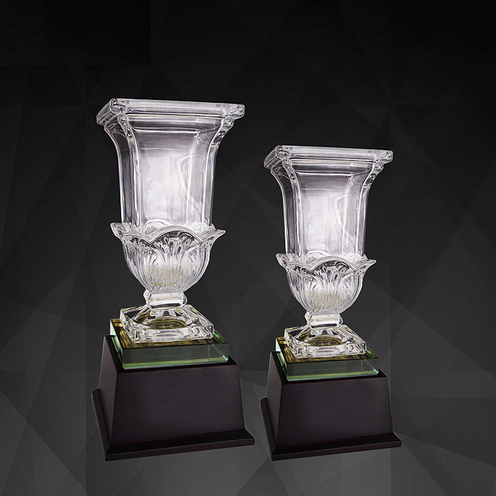 9198 - Exclusive Crystal Trophy
