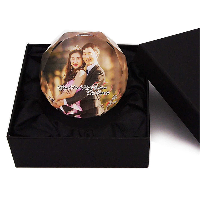 8153 - Crystal Paper Weight