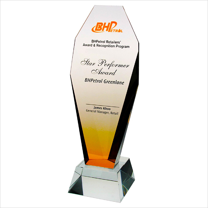 8053 - Exclusive Crystal Glass Awards