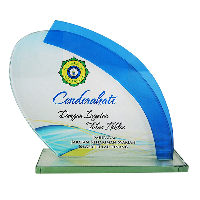 8193 Exclusive Crystal Glass Awards