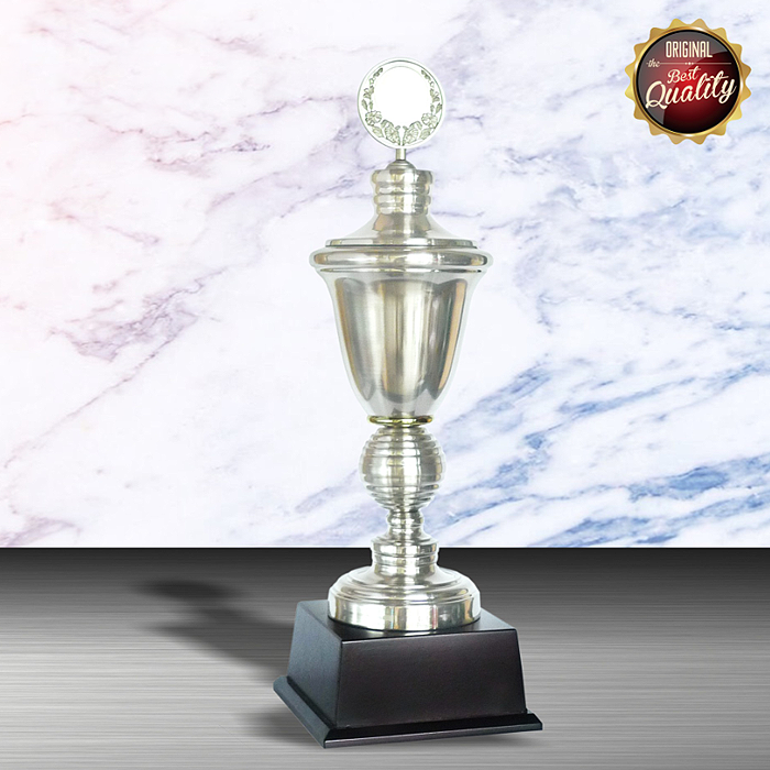 WS6003 - Exclusive White Silver Trophy
