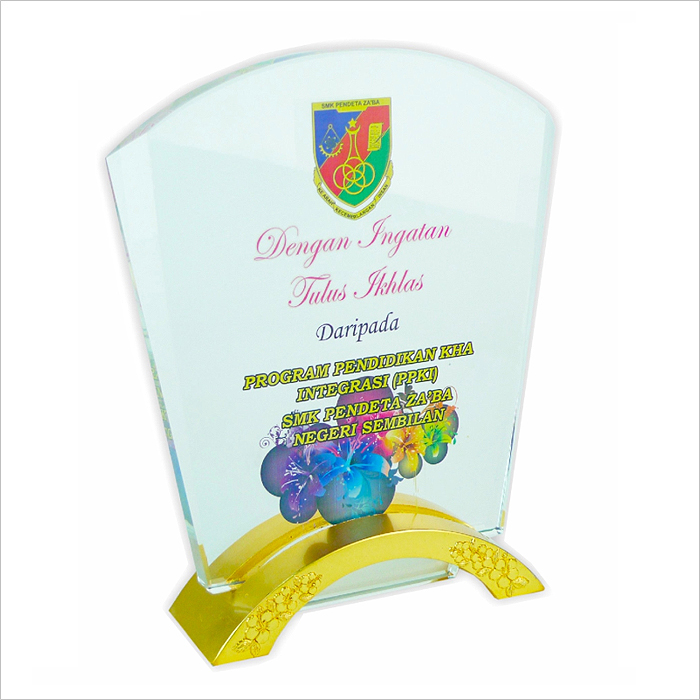 3003 - Exclusive Crystal Plaque