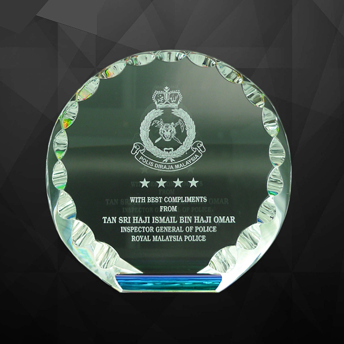 9004 - Exclusive Crystal Plaques