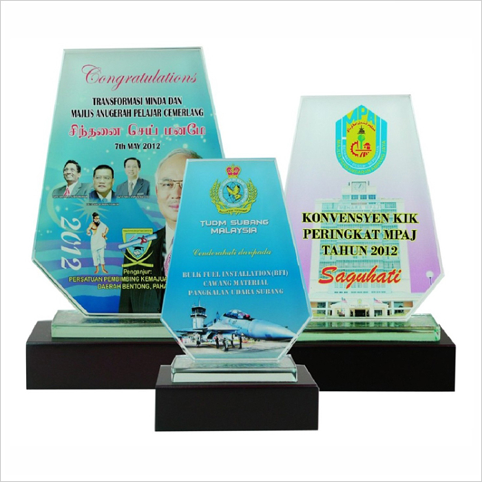 8000 - Exclusive Crystal Glass Awards