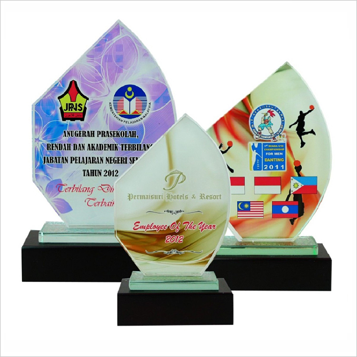 8002 - Exclusive Crystal Glass Awards