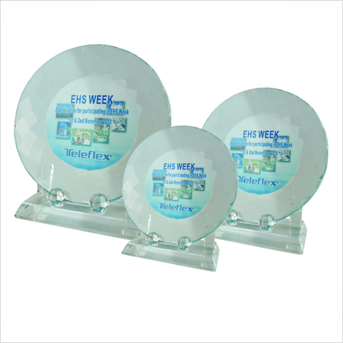 8024 - Exclusive Crystal Glass Awards