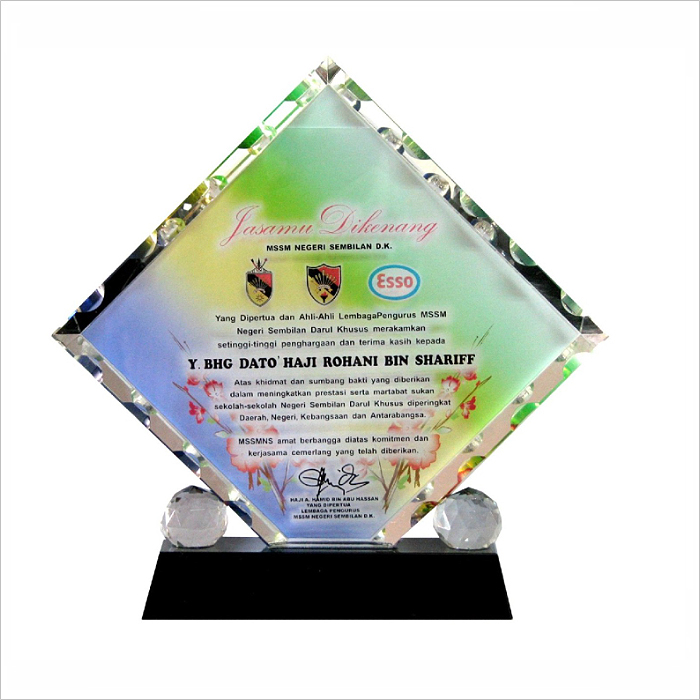 8022 - Exclusive Crystal Glass Awards