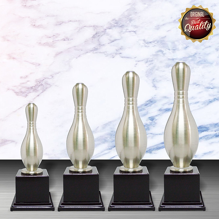 WS6034 - Exclusive White Silver Trophy (Bowling)