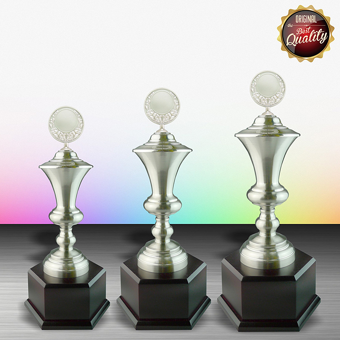 WS6043 - Exclusive White Silver Trophy