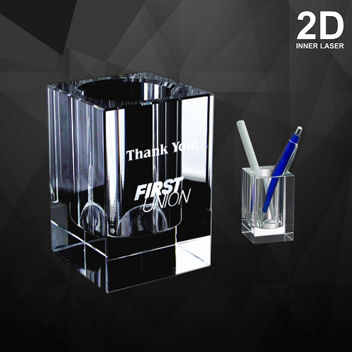 9043 - Crystal Pen Holder